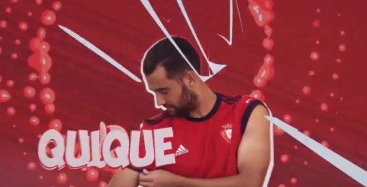 Así es el nuevo vídeo que utilizará Osasuna para anunciar las alineaciones