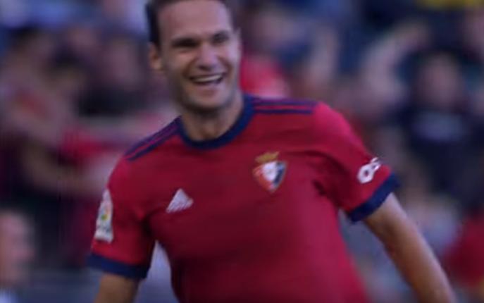 David Rodríguez quiere ser histórico en Osasuna