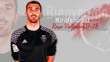 Mario Fernández jugará en el Rayo Vallecano