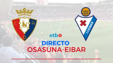 Osasuna Eibar En Vivo y en Directo Online