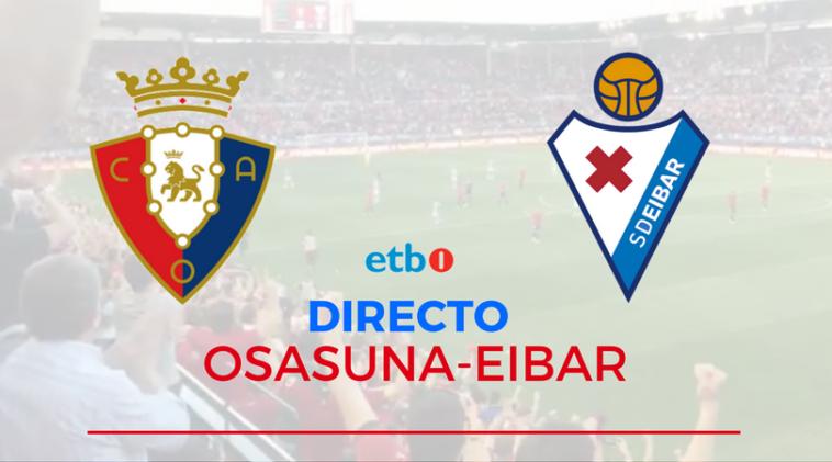Esta es la alineación de Osasuna contra el Eibar