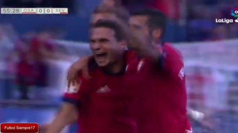 Resumen y todos los goles del Osasuna-Sevilla Atlético (1-1)