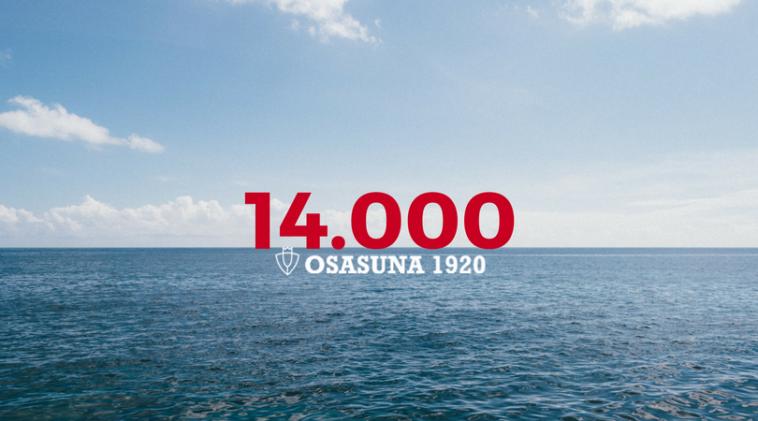 14.000 socios de Osasuna en el horizonte