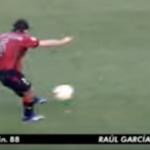 El último gol de Osasuna en el Ramón de Carranza