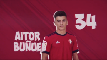 5 canteranos en el once de Osasuna contra el Cádiz