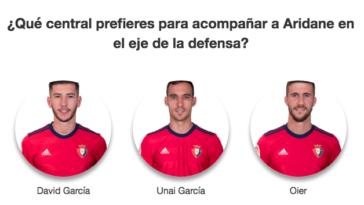 Encuesta   ¿Qué central prefieres para acompañar a Aridane en el eje de la defensa?