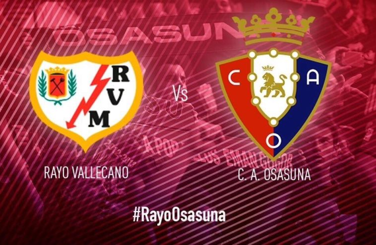 Esta es la alineación de Osasuna contra el Rayo