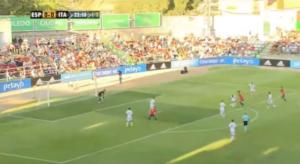 Gol de Mikel Merino contra Italia