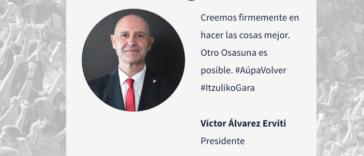 Estos son los principios básicos de la candidatura Osasuna Cambio