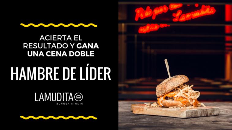 Participa en nuestra porra del Tenerife-Osasuna y gana una cena doble en Lamudita Burger Studio