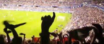 Celebrar un gol de Osasuna en La Romareda. ¿Puede haber algo mejor?