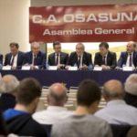 Así fue la presentación de Osasuna Siglo XII, la candidatura de Luis Sabalza