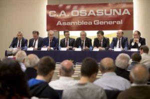 Actual Junta Directiva de Osasuna