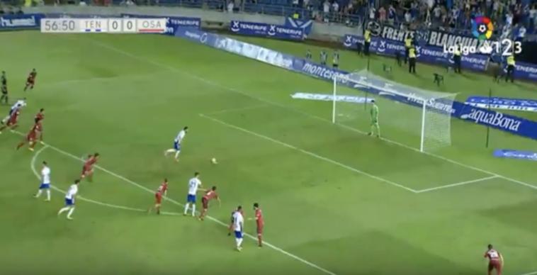 Resumen del empate de Osasuna en Tenerife (0-0)