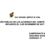 El Comité de Competición le cede la palabra al Nàstic