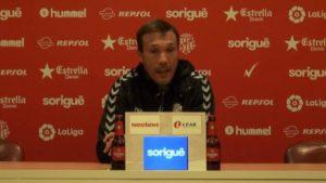 El entrenador del Nàstic no se corta y habla claro sobre el recurso de Osasuna