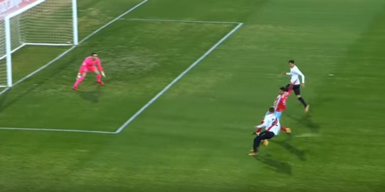 El precioso recorte de Miguel Olavide con el Sevilla Atlético