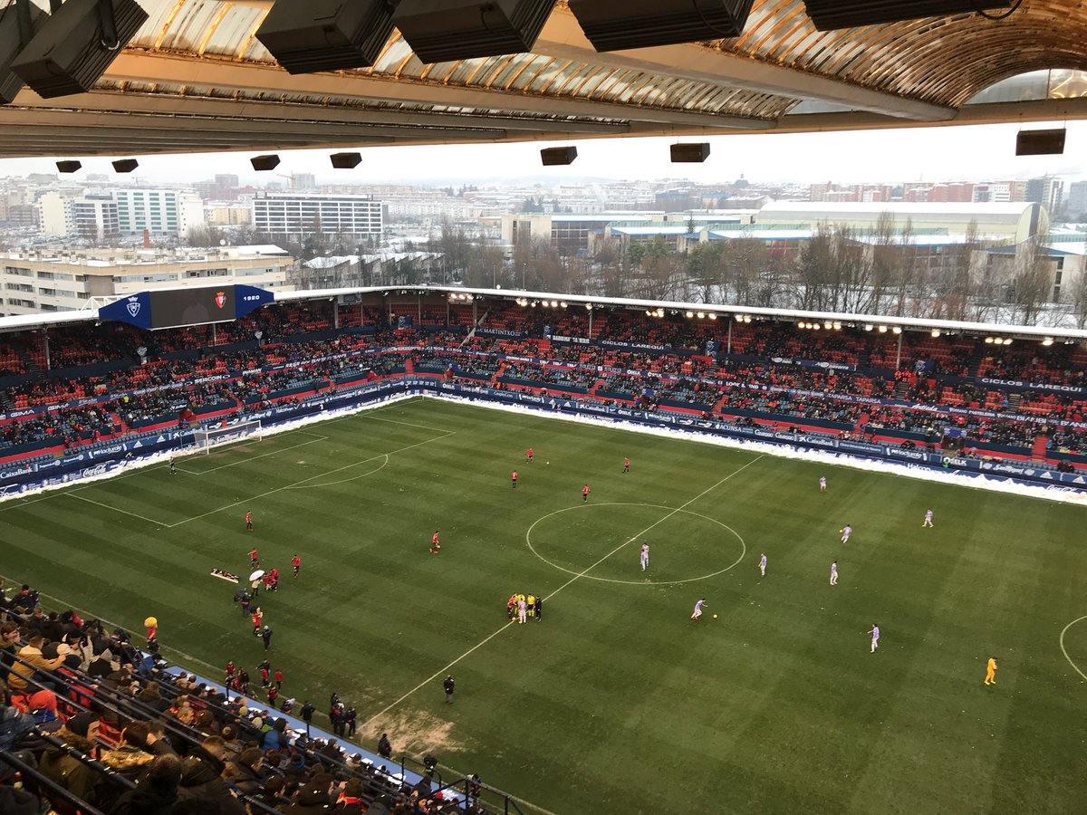 Este era el pronóstico del director deportivo del Valladolid sobre el estado del terreno de juego