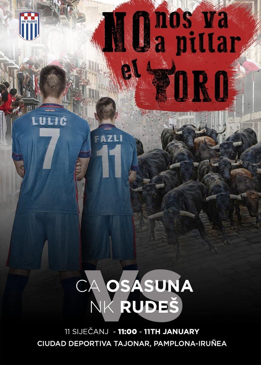 AMISTOSO | Atentos al cartel anunciador del equipo rival de Osasuna