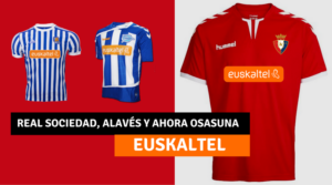 Camiseta Osasuna Euskaltel