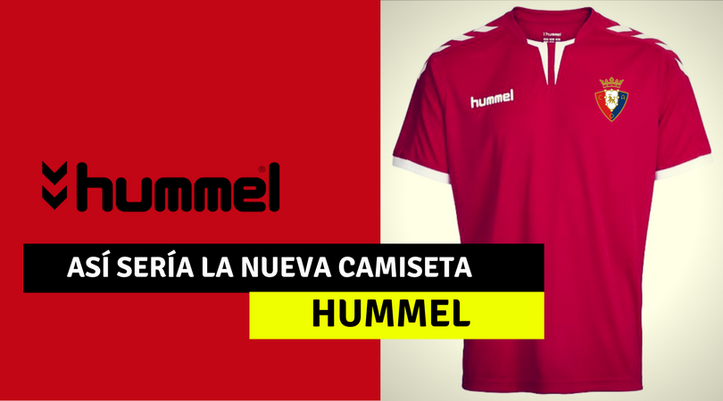 Así sería la camiseta de Osasuna con Hummel 2d1f0945476cc