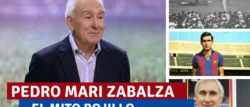 Pedro Mari Zabalza, el mito de Osasuna por el que el Barça pagó 4 millones y tres jugadores