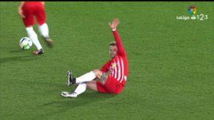 Vídeo | Así fue el gol de David Rodríguez contra el Almería