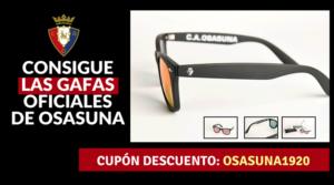 Descuento Gafas Osasuna