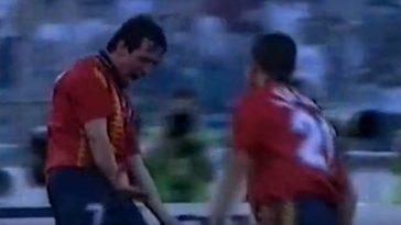 ¿Cuál es el único futbolista navarro que ha marcado gol en un Mundial?