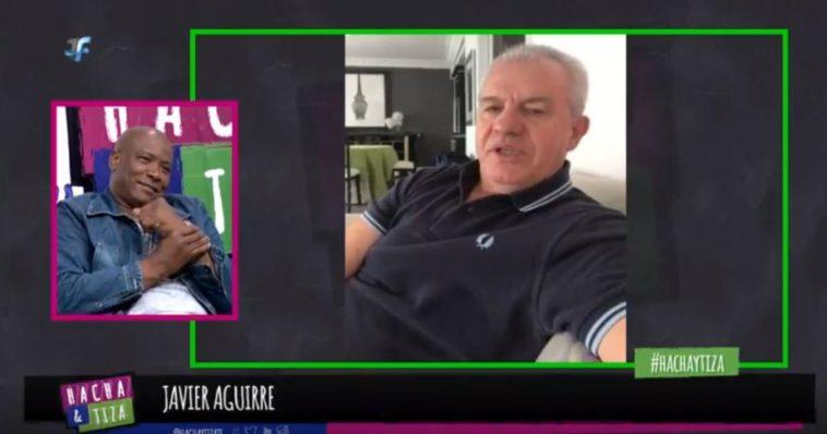 ? MOMENTAZO: Javier Aguirre le canta una canción de Osasuna al 'Chengue' Morales en plena entrevista