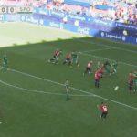 Clerc entra en trance antes del gol de Rubén García