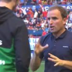 Recadito del árbitro en el acta a los recogepelotas de Osasuna