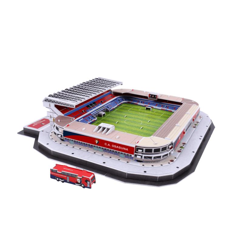 Estadio El Sadar | PUZZLE 3D