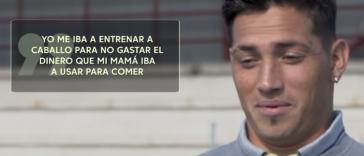 """Chimy Ávila: """"En Argentina iba a entrenar a caballo"""""""