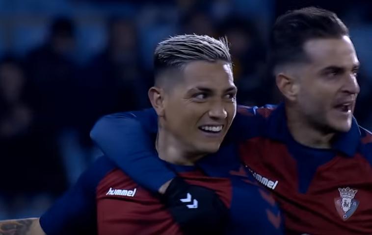 ¿En qué puesto del Pichichi estaría Chimy Ávila si fuese el lanzador de penaltis en Osasuna?
