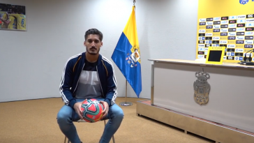 El portero Álvaro Vallés podría estar en la órbita de Osasuna