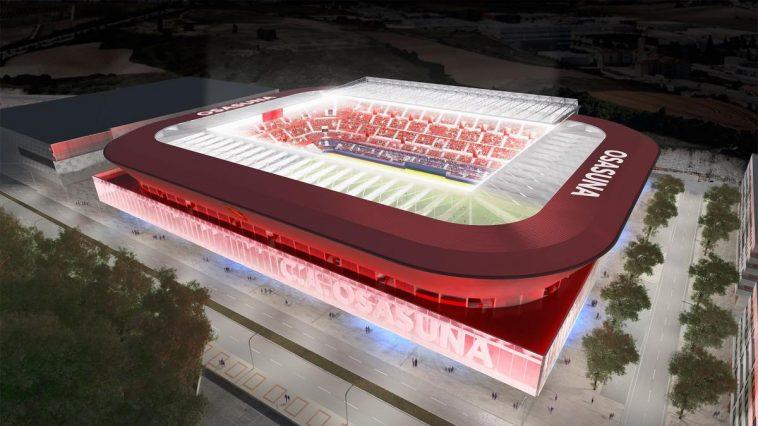 Ranking de capacidad de los estadios de Primera tras la reforma de El Sadar