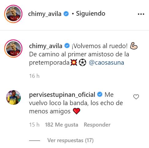 Pervis Estupiñán lanza un guiño en redes sociales a sus antiguos compañeros