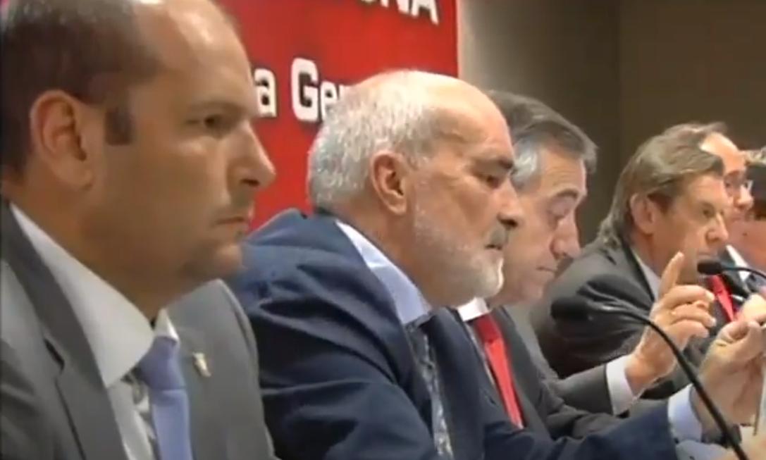 Explosivas declaraciones de un ex directivo de Osasuna