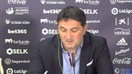 Braulio Vázquez analiza la situación contractual de varios jugadores de Osasuna
