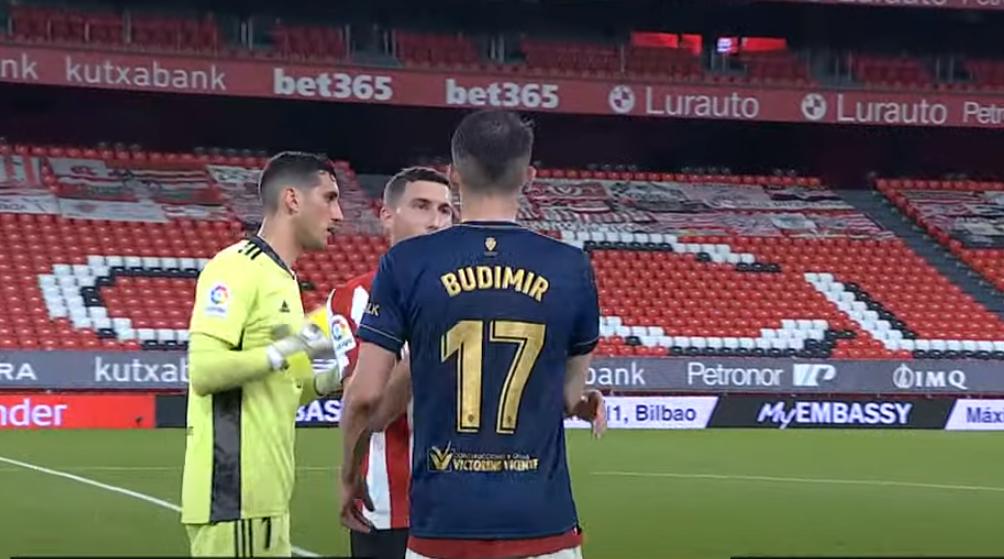 Budimir aspira a ser el máximo goleador de cabeza de Primera