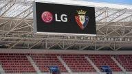 Osasuna instala el segundo videomarcador más grande de LaLiga