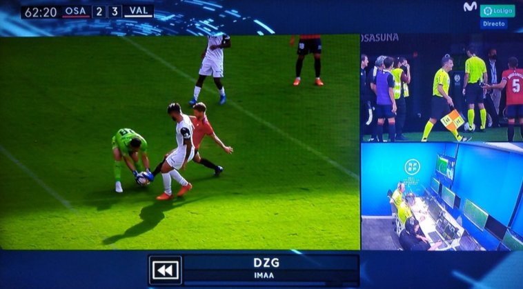 Braulio Vázquez se moja sobre el gol anulado a Brasanac