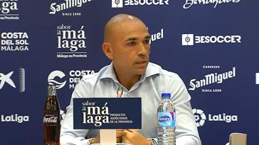 Tremendo enfado del director deportivo del Málaga con Ontiveros
